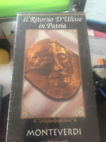 IL RITORNO D'ULISSE IN PATRIA---NEW SEALED DOUBLE VHS