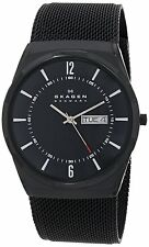 Skagen Men's SKW6006 'Melbye' Black Titanium Watch