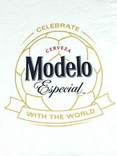 Modelo Beer T-shirt Soccer World Cup Size XL