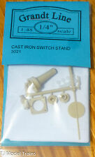 Grandt Line O #3021 (O Scale)Heavy Cast-Iron Switch Stand -- 3-Position (Plastic