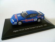 ALPINE A 310 V6 GT TURBO EUROPA CUP SPEEDY de 1985 : ELIGOR ~  NEUF