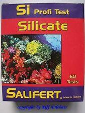 Sílice PROFESIONAL TEST SALIFERT Si Silicate Test Del Agua Para Agua de mar