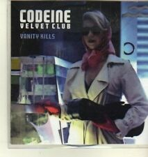 (CW454) Codeine Velvet Club, Vanity Kills - 2009 DJ CD