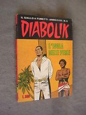 DIABOLIK ORIGINALE ANNO XVIII n° 11 - 1979 - RARO - OTTIMO