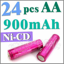 24 AA Ni-Cad Cd Solar Light rechargeable battery Rose