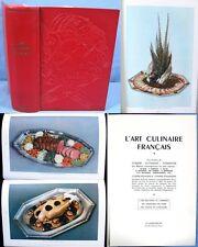 L'ART CULINAIRE FRANÇAIS / Ali-Bab, Escoffier, Urbain Dubois, etc./ Édition 1949