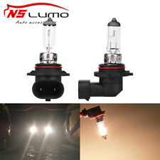 2x Car Headlight Fog Light Halogen Bulb 9006 HB4 55W 12V Bright Xenon Clear Lens