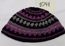 Purple Frik Yarmulke Freak Jewish Kippah Kipah Knitted Judaica 12x21cm Kippah