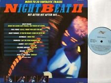 NIGHT BEAT II various (30 track funk disco hip-hop soul compilation) DOUBLE LP