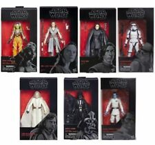 Star Wars Back Series The Last Jedi full set of 7 action figures wave 12 NEW!!!!