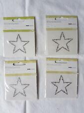 Rhinestones (Star) Self Adhesive -PACK OF 4-