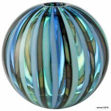 "Murano Salviati Vase Perle "" boule soufflé à la main avec sa boite"