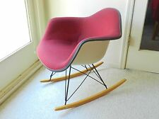 Vintage Herman Miller Upholstered Rocking Chair Mid Century Modern - Eames Knoll