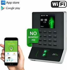 Fingerprint Attendance Machine Time Clock Employee  Recorder for Office Supply
