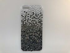 FOR IPHONE 5 CASE LUXURY BLING CRYSTAL DIAMOND  COVER -silver- black