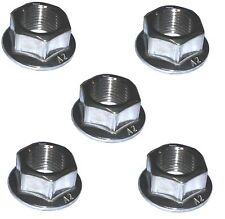 Rear Sprocket Nuts (x5) - M10 x 1.25 - A2 Stainless