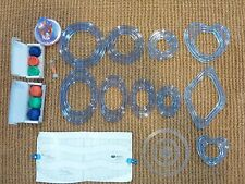 Creative Memories Circle Oval Heart Diamond Templates Blades Cutting System