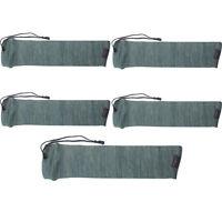 Tourbon Hunting 5 Packs Gun Sleeves Pistol Sock Handgun Protective Bag Anti-rust