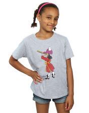 Vêtements T-shirt coton mélangé Disney pour fille de 2 à 16 ans
