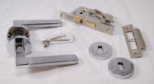 Venecia Mango Pack pc/sss (Interior 3 Palanca lockset), bisagra de 45 mm de puerta cortafuego