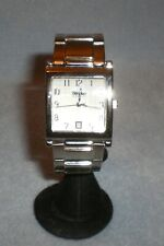 Mossimo Mens Stainless Steel Watch MM90213 New Battery