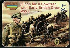 "Strelets 1/72 (20mm) WWI British 8"" Mk II Howitzer with Crew"