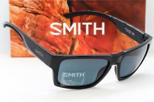New Smith Outlier 2 Sunglasses - Black frame / Black Chromapop Polarized lens