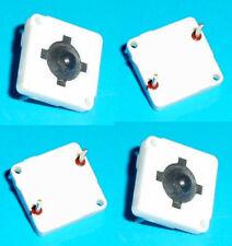 4 x pulsanti microswitch unipolari N.A. per CS 13 x 13 x 5 mm tastini ITT MD