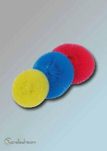 25 Piece Plastiktopfreiniger Pot Cleaner Scourers Sponges Colourful Unsorted