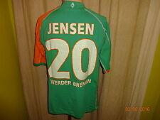 "Werder Bremen Kappa Trikot 05/06 ""KIK"" + Nr.20 Jensen + Unterschriften Gr.L- XL"