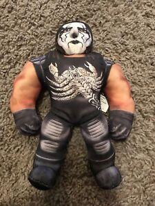 "WCW Wrestling Mini Sting NWO Bashin Brawler 8"" Plush"
