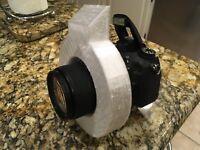 Ring Diffuser Light Modifier foron CameraFlash Nikon Canon DSLRs