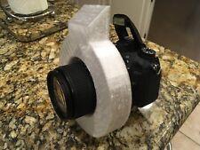 Ring Flash Diffuser Light Modifier foron CameraFlash Nikon Canon Dslrs