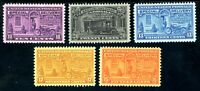 USAstamps Unused VF US Special Delivery Set Scott E15 - E19 OG MNH