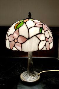 Tiffany Tischlampe Blume - Stehlampe - wie NEU