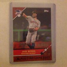 JOSE ALTUVE #19C Astros 1/10 made Cherry 2017 TOPPS ON-DEMAND 1987 All Star