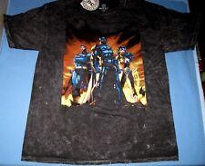 Men XL NEW T Shirt DC Comics Batman/Superman/Wonder Woman Tie Die W/Tags