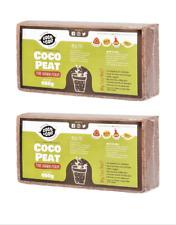 More details for coir brick | 2 x 650g (9l) | peat free | organic | coconut fibre | growing media