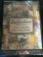 Crafters Companion - Kathleen Francour - Destinations - 2x CD - BN Card, crafts