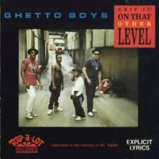 Ghetto Boys Grip It! On That Other Level Cd 1989 Geto Boys 1St O.G. Press Rare