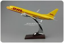 31CM DHL BOEING 737Commerce Airplane Plane Aircraft Resin Model Collection