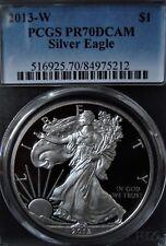 2013-W 1oz Silver American Eagle Dollar - PCGS PR 70 DCAM
