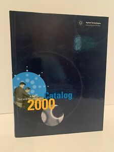 2000 HP/AGILENT TECHNOLOGIES Test & Measurement CATALOG Hard Cover w/Prices