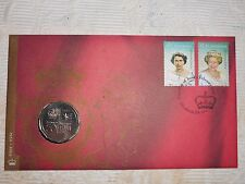 2002 Accession QUEEN ELIZABETH II GOLDEN JUBILEE FDC PNC Very RARE CV $275