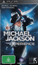 Michael Jackson The Experience, Sony PSP game complete, USED