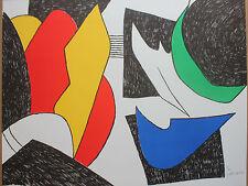 Joan GARDY-ARTIGAS ( MIRO ) - Lithographie litografia signée commencement *