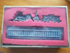 Lenox Steiff Holiday Express Train. Christmas Collection