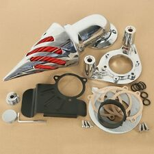 Air Cleaner Kit Intake Aluminum For Harley Electra Street Road Glide 2008-2012