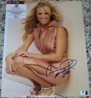 FLASH SALE! Carrie Underwood Signed Autographed 11x14 Photo GAI GA GV COA!