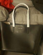 Michael Kors Emry Black Leather Tote Bag